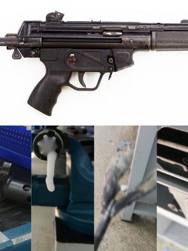 Piyade Tüfeği Temizliği, Tardu Namlu Temizleme Köpüğü